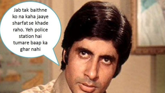 Having grown up in the 80s with Big B looming large even through his decline, I don't miss the angry young man as much today as I miss the arrogant one inside him.