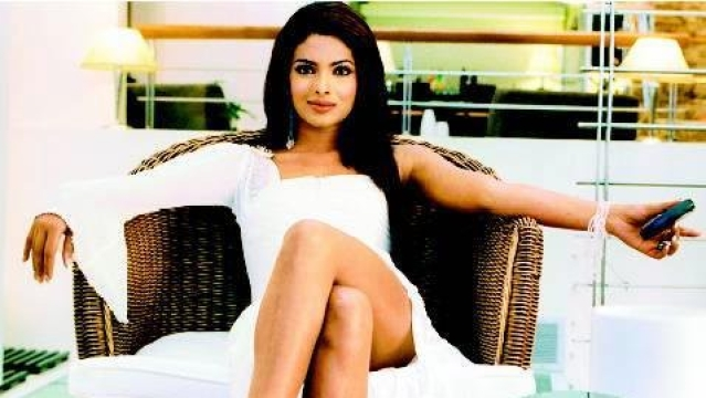 Priyanka Chopra as Sonia Roy in <i>Aitraaz</i>.