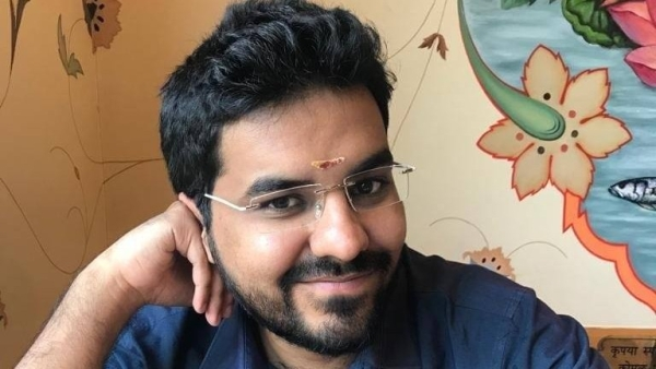 File image of journalist Mayank Jain. Jain has been accused of sexual harassment by users on Twitter.