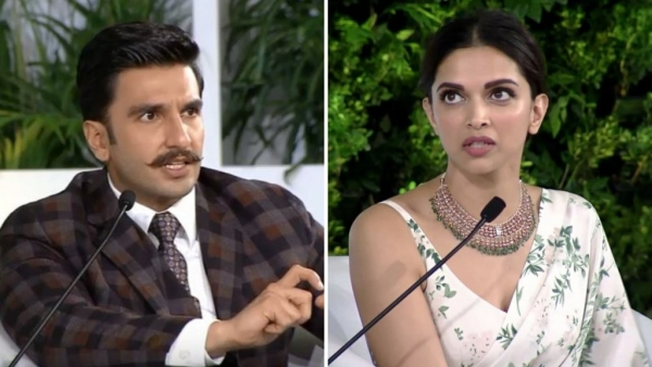 Ranveer Singh and Deepika Padukone spoke about films, their equation and the #MeToo movement at the Hindustan Times Leadership Summit 2018.