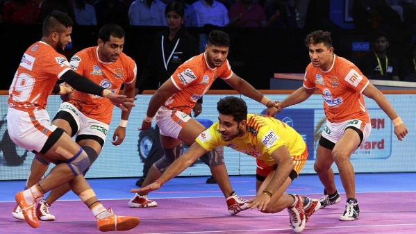 PKL: Gujarat FortuneGiants Pip Puneri Paltan to Register First Win