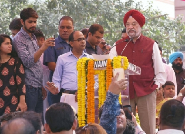 Rani Jhansi flyover opens after 20 years, AAP slams BJP for graft