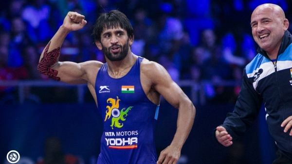 Bajrang Punia dedicates his World Championships silver to the victims of the Amritsar train accident.