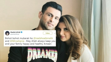 Sania Mirza and Shoaib Malik blessed with a baby boy, Twitter celebrates.