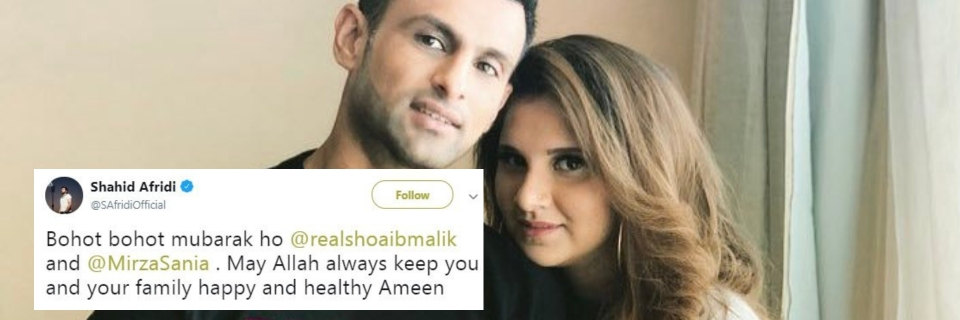 Sania Mirza Shoaib Malik Blessed With a Baby Boy, Twitter