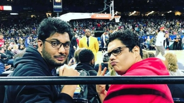 AIB released a statement after both were accused of sexual harassment.
