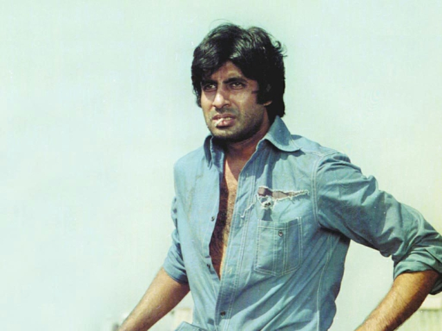 It seems Bachchan Sr. wants us to constantly hold him on a high pedestal but expect nothing of him.
