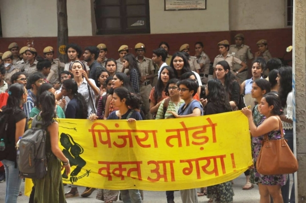 Pinjra Tod: Fresh Protests Against Curfew at Women's Hostels in DU
