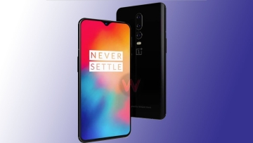 This could be the official OnePlus 6T design.