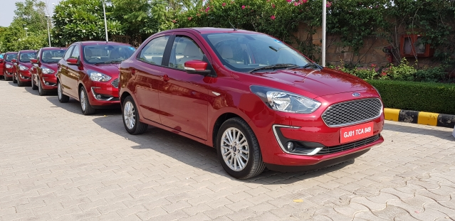 The Aspire gets a mild facelift, with new bumper, grille, headlamps and 15-inch alloy wheel design.