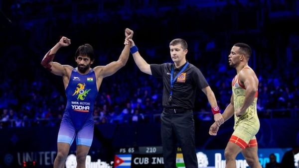 Bajrang Punia could add his name to the elite list when he takes on Takuto Otoguro from Japan in final of the World Championships.