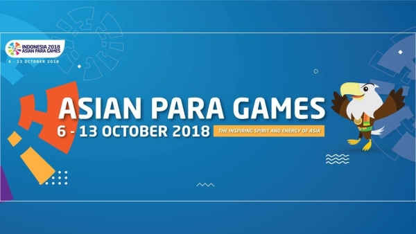 Official poster of Asian Para Games 2018.