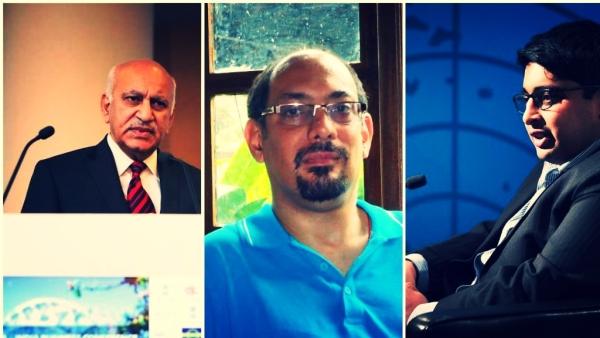MJ Akbar, KR Sreenivas among journalist's accused in Indian media's Me Too.