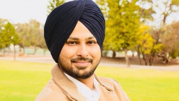 Sunny Singh is running for the city council in Australia.