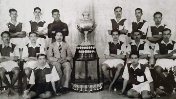 The Bangalore Muslims team was the first Indian team to win the Rovers Cup, India's second oldest tournament, in 1937.
