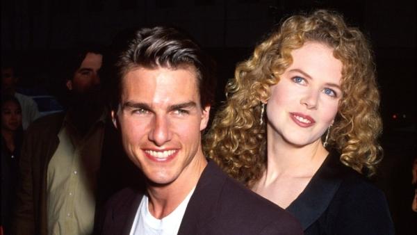 Tom Cruise and Nicole Kidman in happier times.