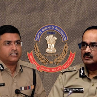 CBI Special Director Rakesh Asthana (left) and Director CBI Alok Verma (right)