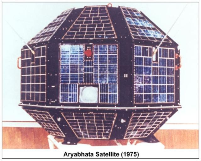 Aryabhata satellite.