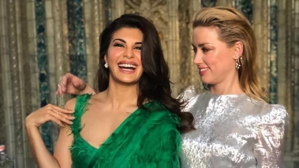 Jacqueline Fernandez Goes Glam With 'Aquaman' Actor Amber Heard