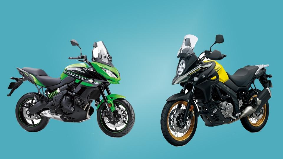 Big Adventure 650 Bikes Kawasaki Versys Or Suzuki V Strom 650 Xt