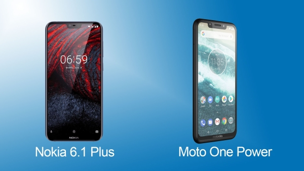 The Pure Android Battle: Motorola Moto One Power or Nokia 6.1 Plus