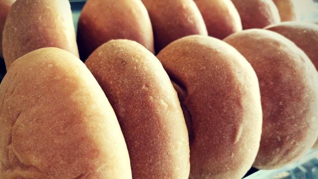 Buns at Iyengar Bakeries.