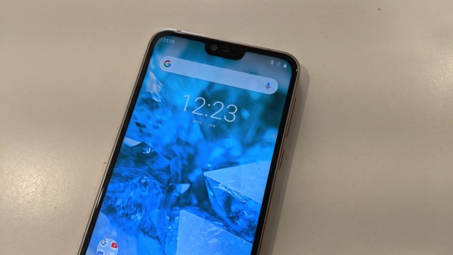 Nokia 7.1 gets a notch, but at least it is small in size.