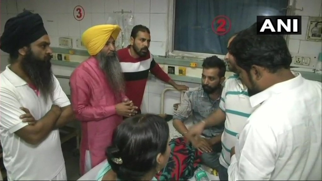 Approximately more than 60 injured people including children have received medical treatment till now, doctors at Amritsar said.