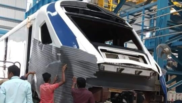 Indian Railway's ambitious Train 18.
