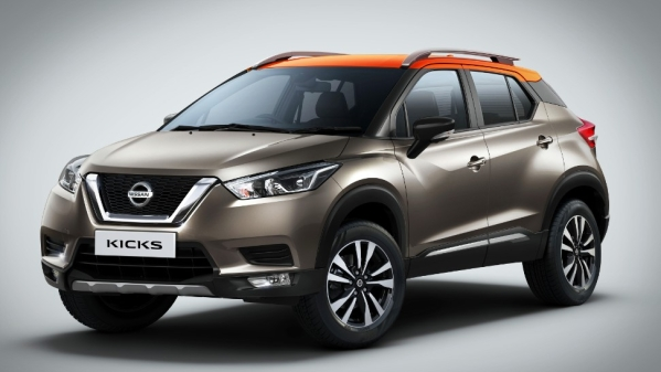 The Nissan Kicks shares its platform with the Renault Captur, Nissan Terrano and Renault Duster.