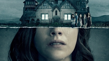 A poster for <i>The Haunting of Hill House</i>.