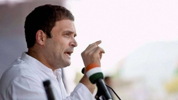 The BJP on Saturday, 23 March cited the rise in Congress president Rahul Gandhi's income between 2004 and 2014 to question its source, claiming the Congress president had no ostensible source of income.