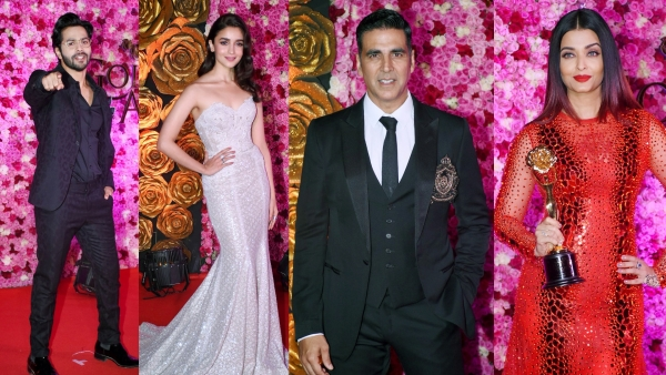 A number of Bollywood A-listers were spotted at this awards show.