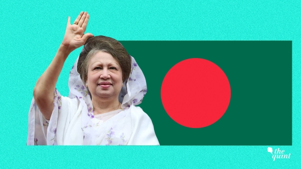 Image of former Prime Minister of Bangladesh, Begum Zia, who has been jailed, used for representational purposes.