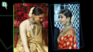 Deepika or Anushka, who wore Sabyasachi-styled wedding reception look better?