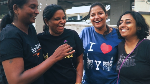 Five women on bikes explore Hyderabad, drink delicious Irani chai, and discuss polls and policies.