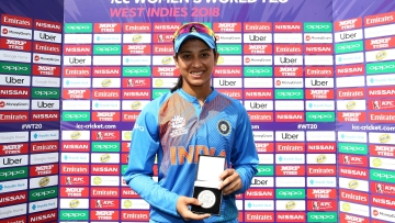 Indian batter Smriti Mandhana has scored 144 runs in the Women's World T20 so far and is India's second-highest scorer.