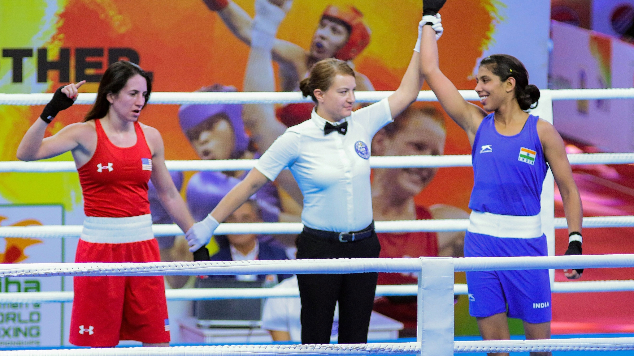 Sarita, Manisha Give India Flying Start in World Boxing C'ship