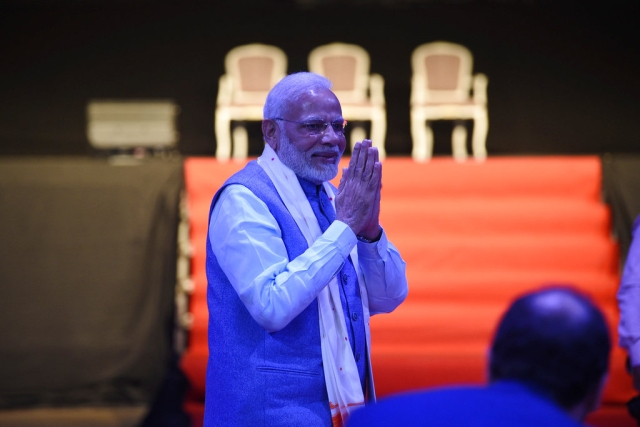 Prime Minister Narendra Modi attended the 'Yoga For Peace' event in Buenos Aires, Argentina, on the sidelines of the G20 summit.