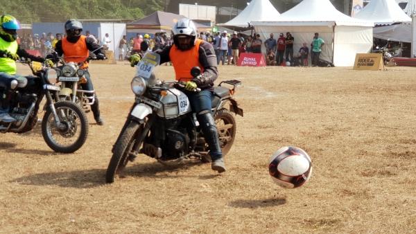 Motoball event at Rider Mania 2018.