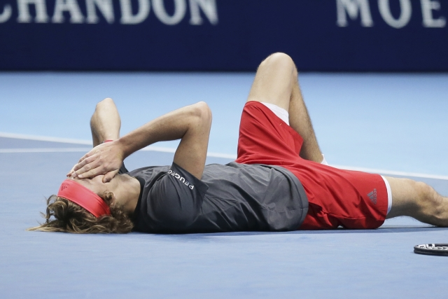 Zverev is the first player to defeat both Djokovic & Federer at the same edition of the ATP Finals