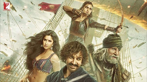 Movie poster of Thugs of Hindostan.