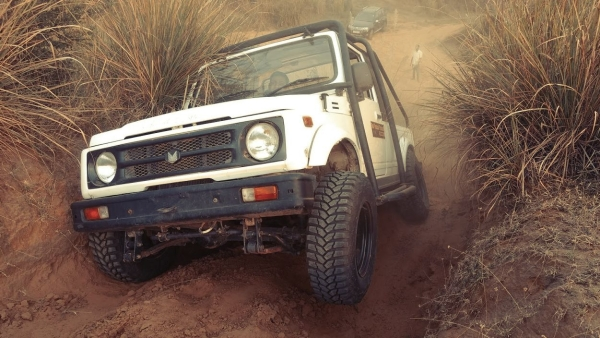 The Maruti Gypsy was first introduced in 1986 in India.