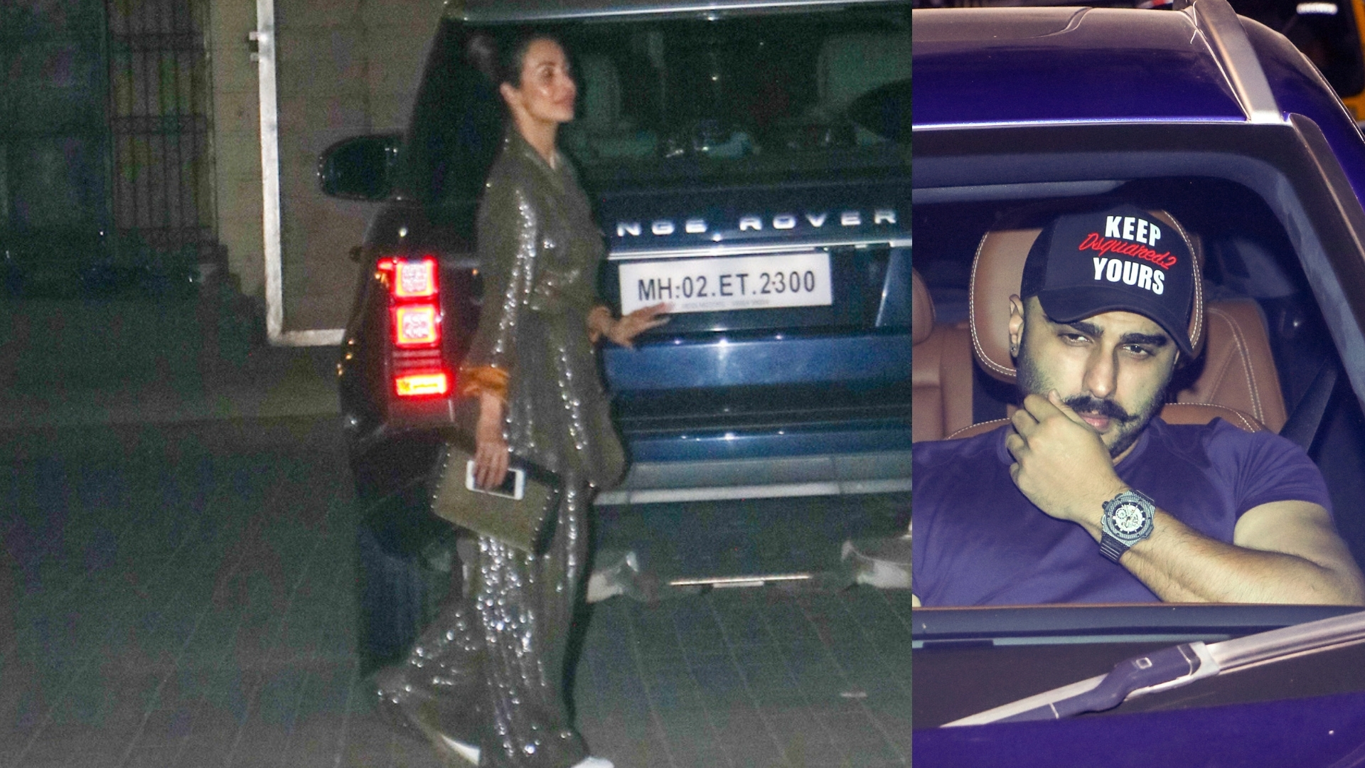 Did Malaika Arora just wear a pendant with Arjun Kapoor and her initials on it?