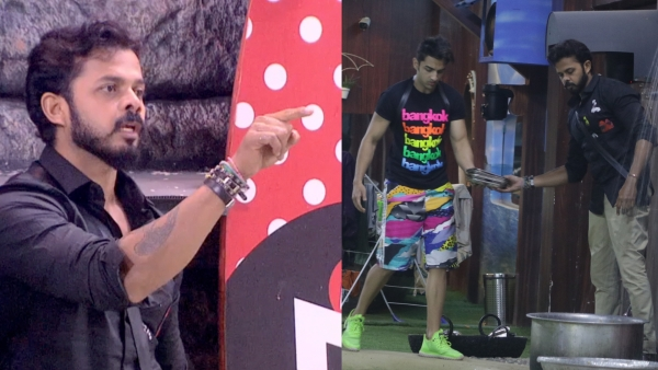 Sreesanth gets into a fight with Karanvir.