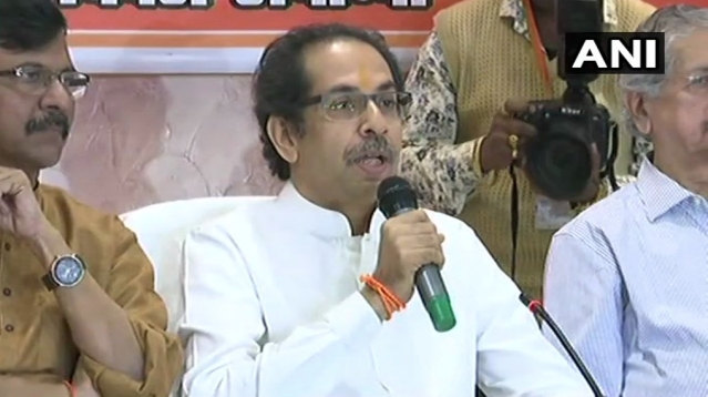 Uddhav Thackeray in Ayodhya.