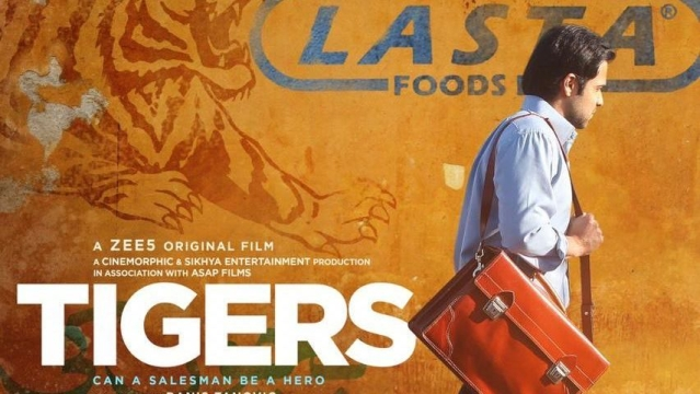 A poster of 'Tigers'.
