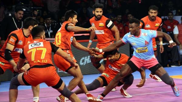 Pro Kabaddi: Pawan Takes Bengaluru to Victory Against Jaipur