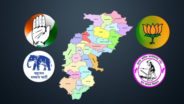 A three-way contest is in the offing as Chhattisgarh goes for the second and concluding phase of Assembly polls on Tuesday, 20 November.