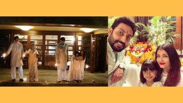 Here's a glimpse into Diwali at the Bachchans' house
